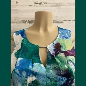 Calvin Klein Colorful women top new tags size XS